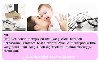 Checklist anamnesa kunjungan ibu hamil