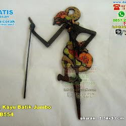 Wayang Kayu Batik Jumbo