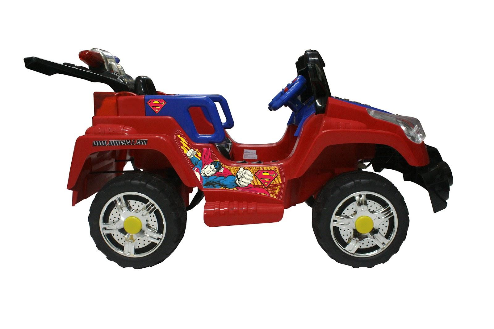 ATV TRANSFORMER SUPERMAN RC NEW