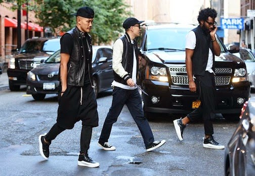 Public School NYFW, Tommy Ton for GQ