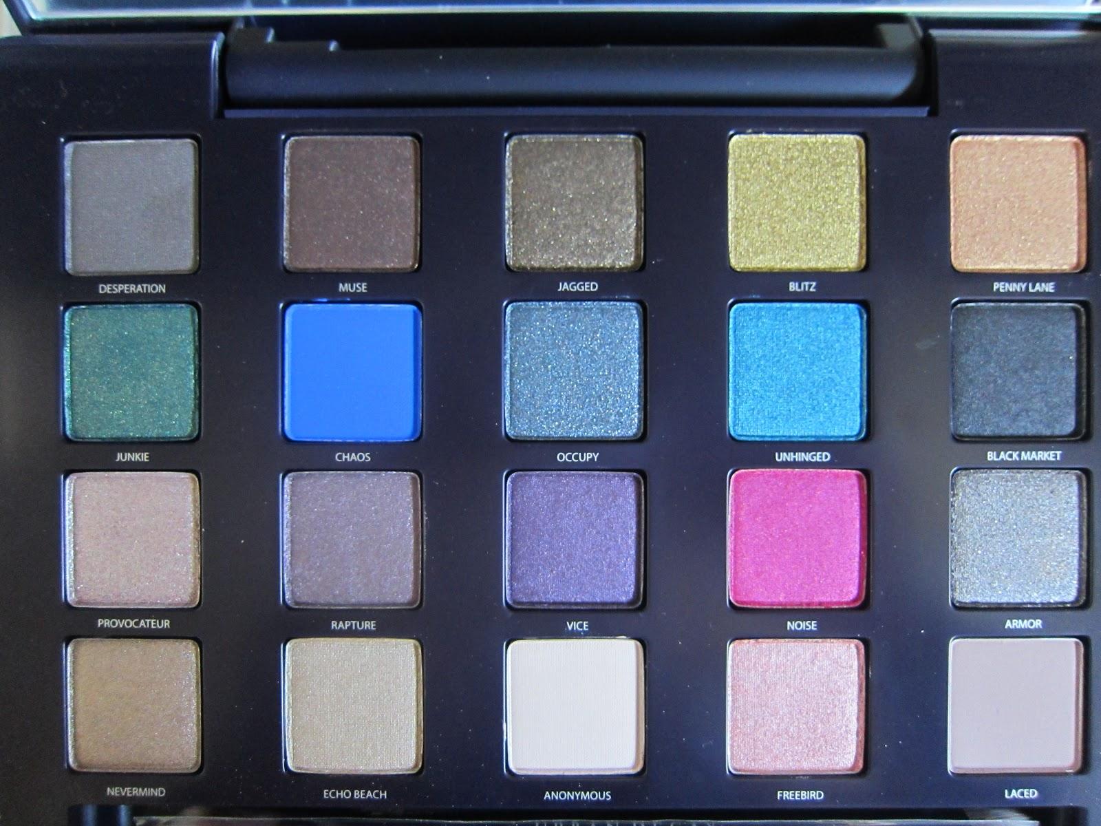 Le blog de delphine maquillage color avec la vice - Palette maquillage avec pinceaux ...