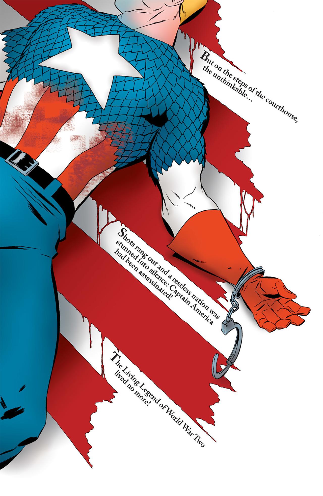 Captain America (2005) Issue #50 #50 - English 37