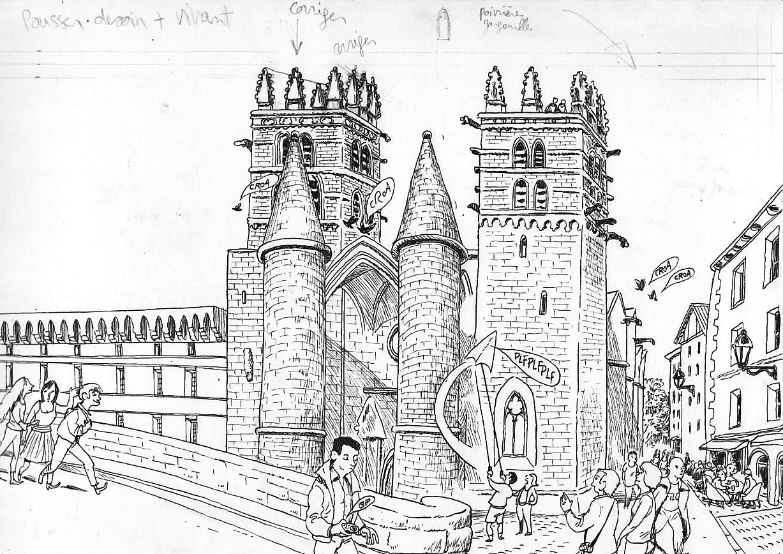 Le petit guide de montpellier cath drale st pierre - Cathedrale saint pierre de montpellier ...