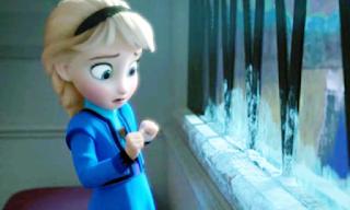 Elsa Frozen Kecil