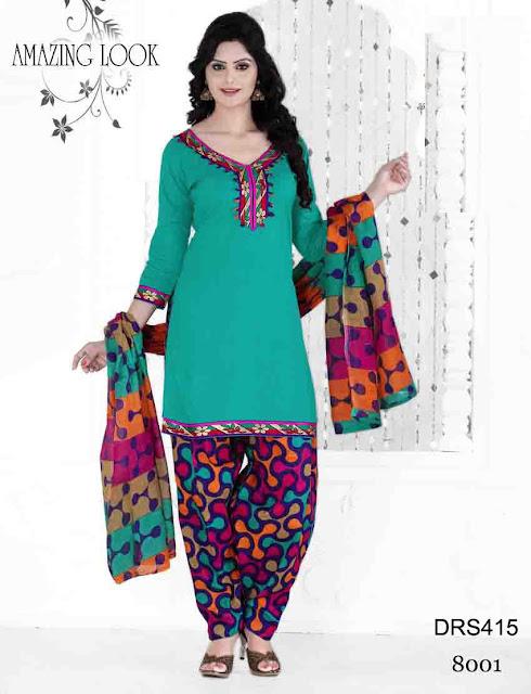 Latest Short Patiala Cotton Dress Material – Wholesale