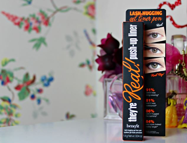 Review | Benefit They're Real Push Up Liner