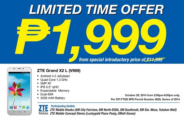 ZTE Grand X2 L Price Drop