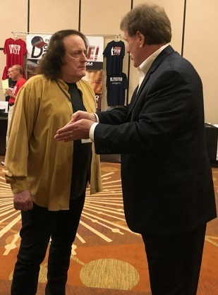 Tommy James (Shondells) with Carl on Long Island (2018)