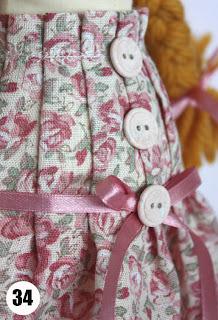 Кукла в цветочном платье.Часть 2 34