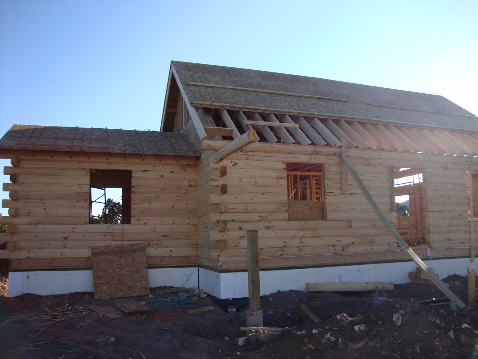 Patriot Log Home Builders Coventry Log Home Buidt By