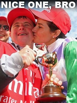 2015 Melbourne Cup Winners:  <br>Michelle and Steve Payne