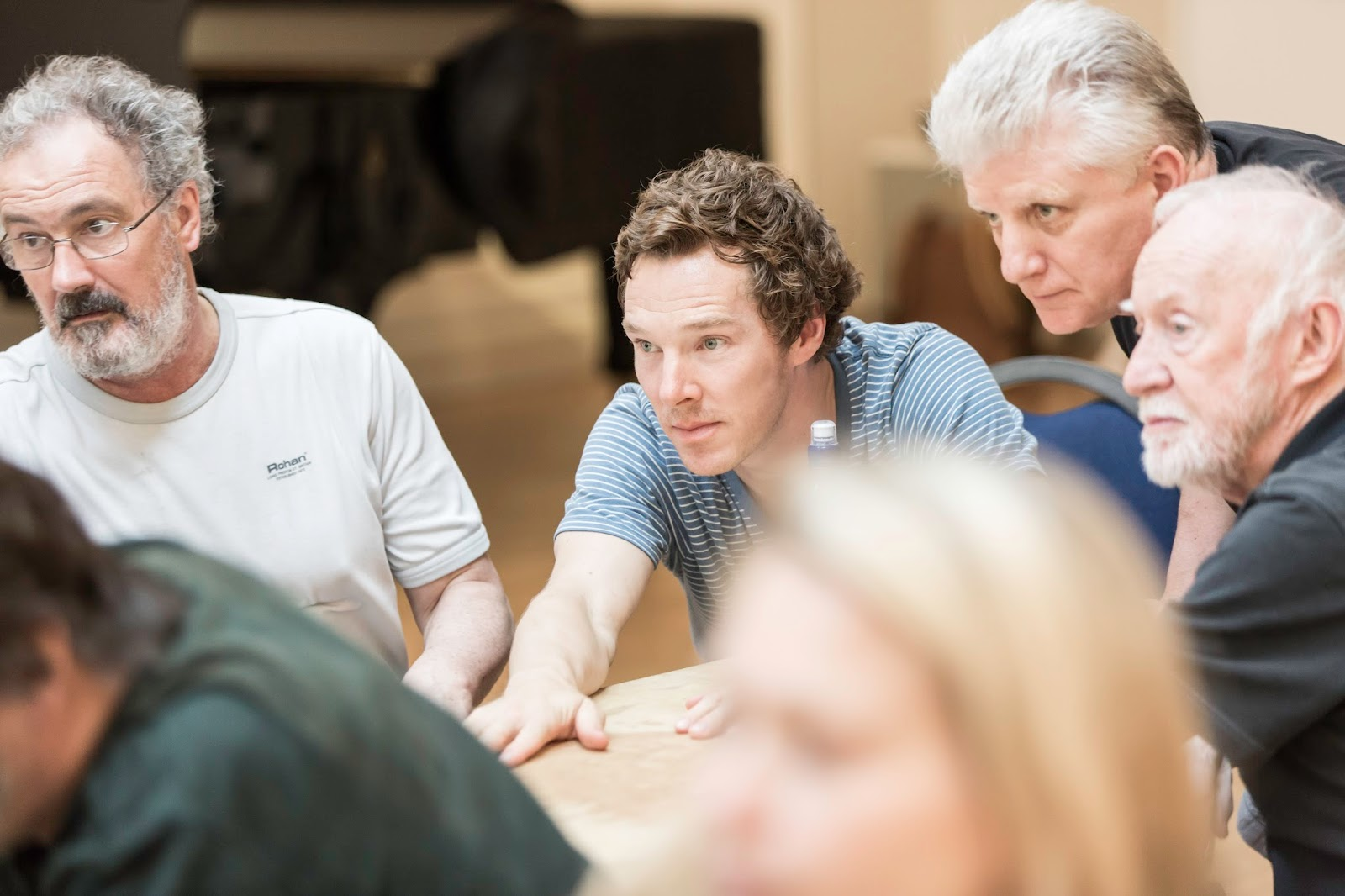 West End Frame: Rehearsal images released for Hamlet starring Benedict ...