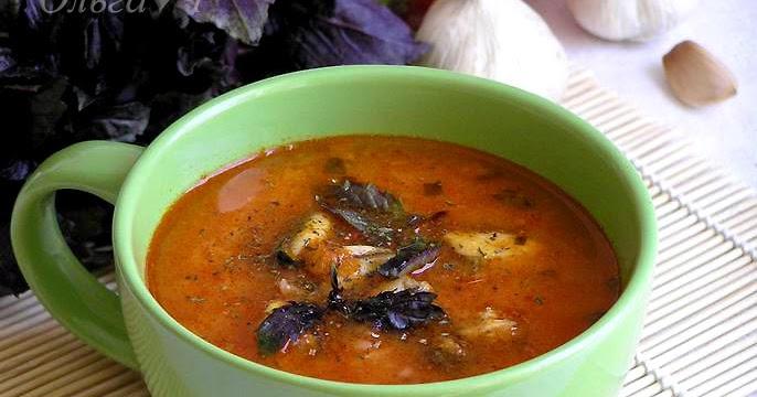 Суп томатный с мидиями рецепт