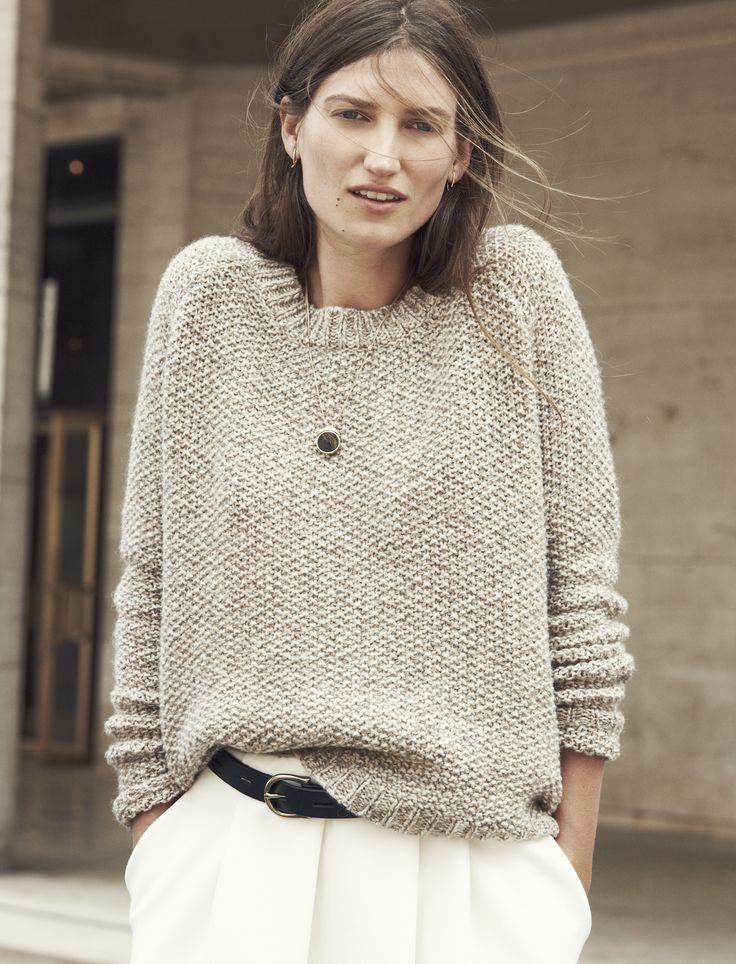 Madewell x Sézane Haspen Sweater