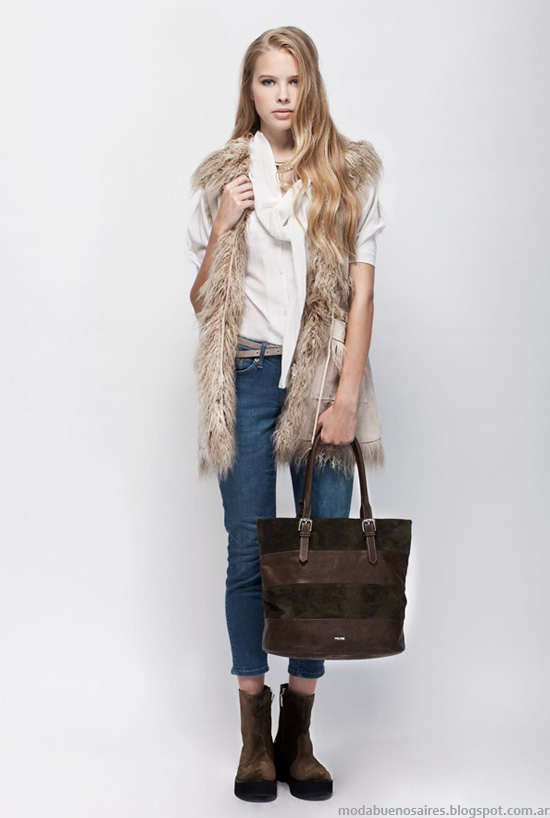 Chalecos invierno 2013 moda Prune mujer.