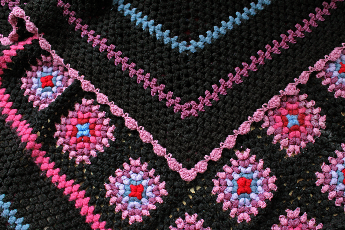 The Butterfly Balcony: Crochet It - Stained Glass Blanket