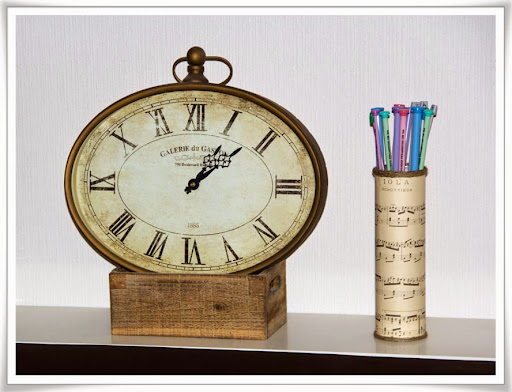 Stickburk och klocka som matchar