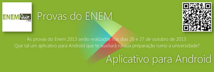 Provas do ENEM: Aplicativo para Android