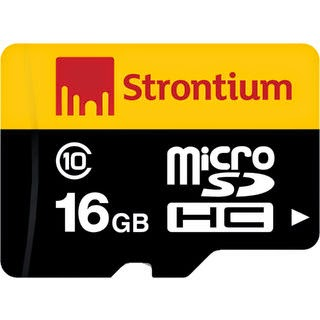 Storntium 16gb class 10 micro sd card for just Rs 332