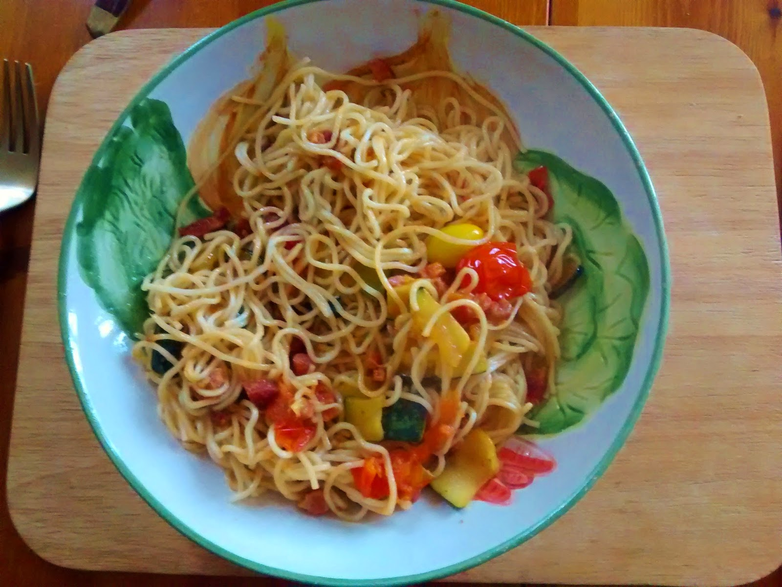 noodles and peppers dinner meals