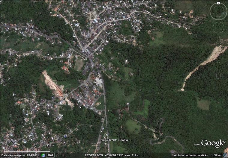Localização da EMJB