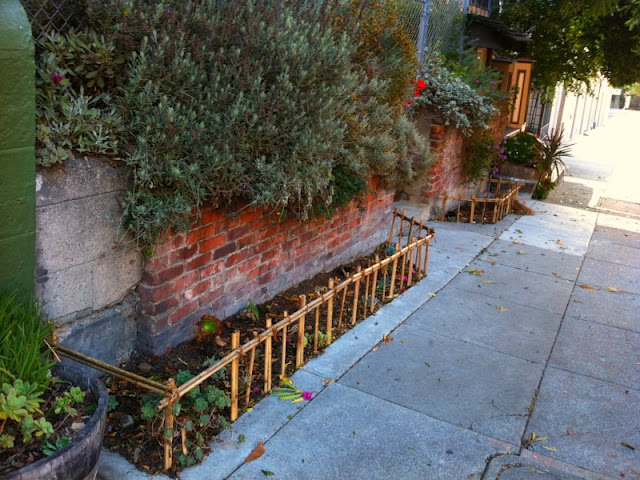 sidewalk garden Page Street Garden: Sidewalk garden gets planted out front