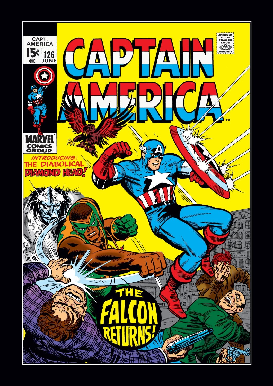 Captain America (1968) Issue #126 #40 - English 1