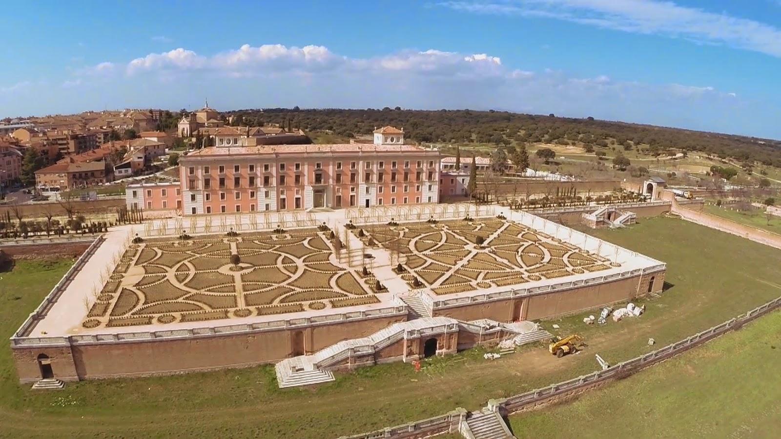 Madrid con encanto jardines del palacio del infante d - Residencia boadilla del monte ...