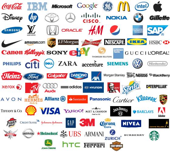 logos,brand logos with names,food brand logos,brand logos and their ...