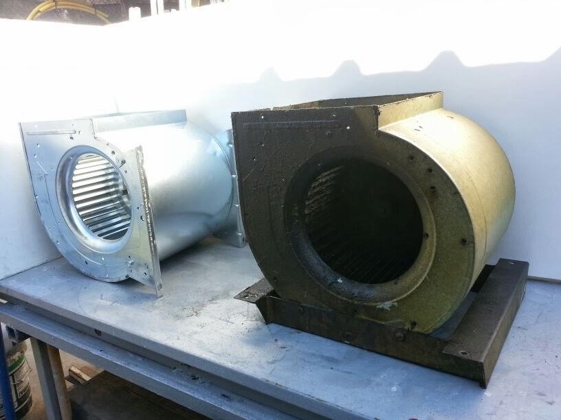 Motores salida de humos de cocinas industriales bares y for Extractor de cocina industrial