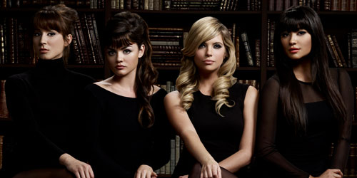 pretty little liars biblioteca