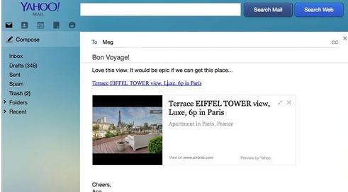 Nuevo Yahoo: Enlaces con vida