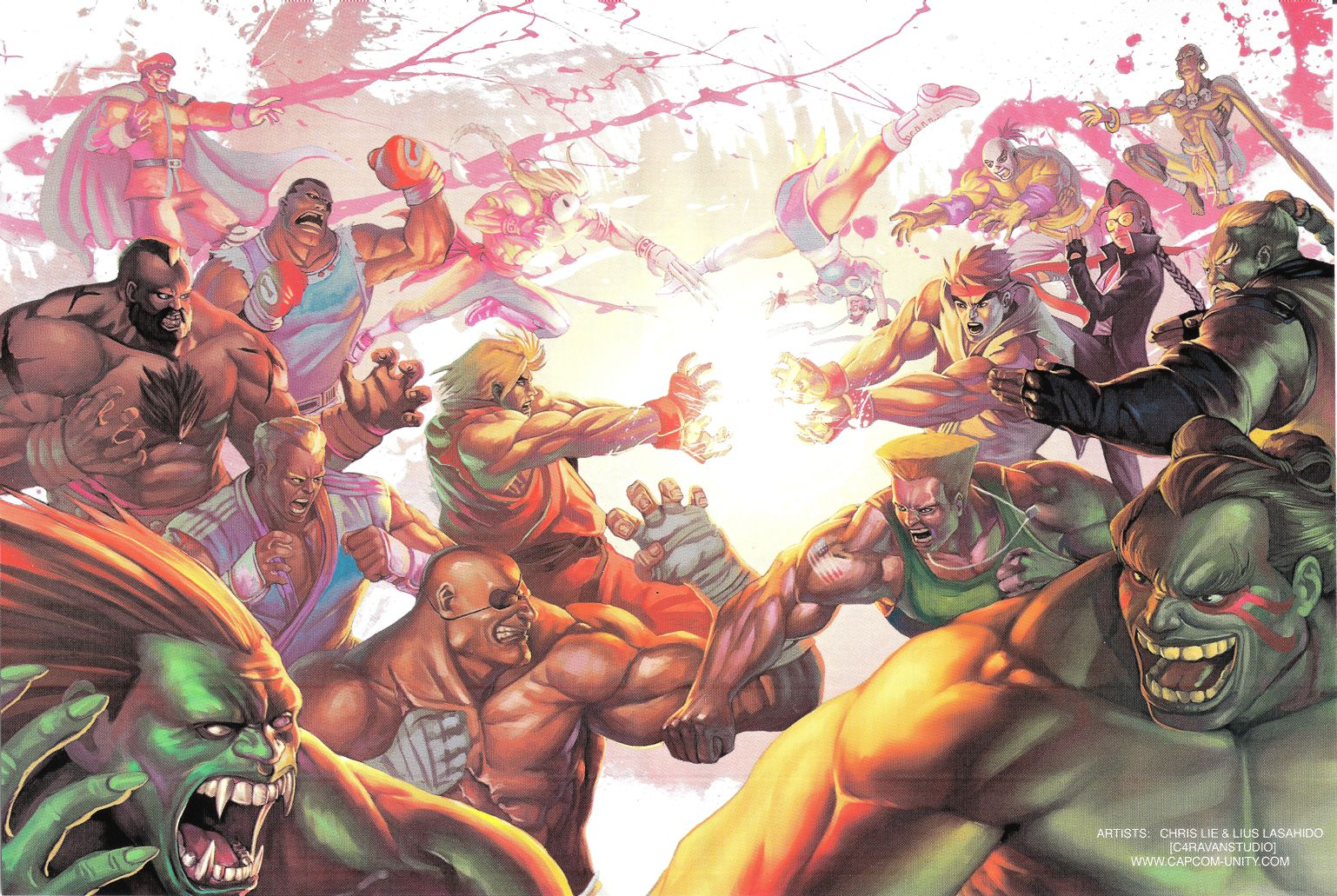 Street Fighter HD & Widescreen Wallpaper 0.5333957935993