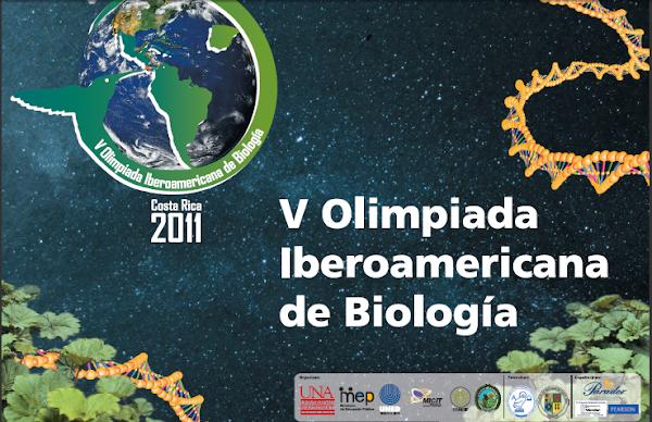 V OLIMPIADA IBEROAMERICANA DE BIOLOGIA COSTA RICA 2011