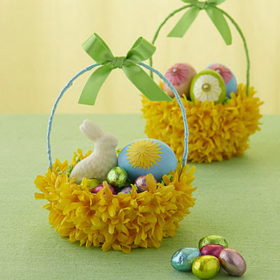 Easter Projects For Toddlers: Pretty Basket 5
