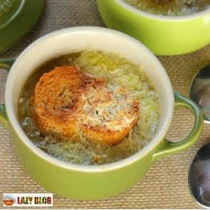 Receta de sopa de cebolla para el invierno