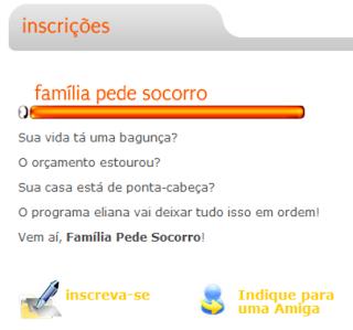 Inscrições Familia Pede Socorro- Blog Fikdica