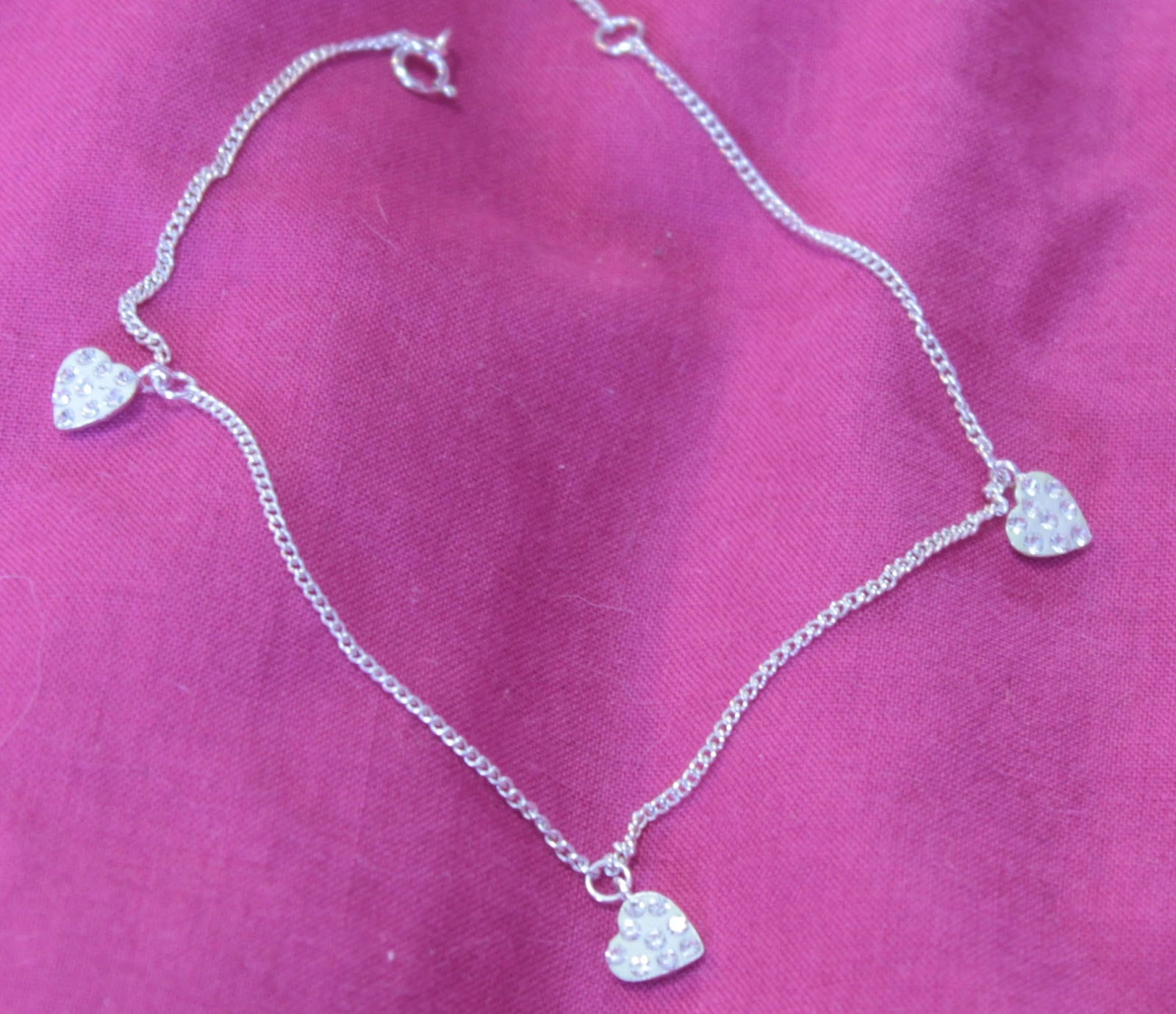 Heart Ankle Chain