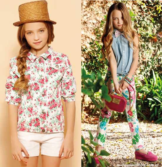 ropa para niñas verano 2014