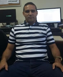 Ricardo Hortegal, filho da professora  Idna Hortegal e Jorge Andrade