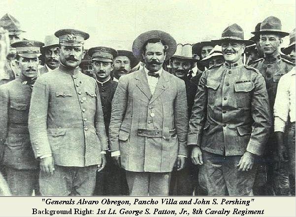 Alvaro Obregon y Pancho Villa