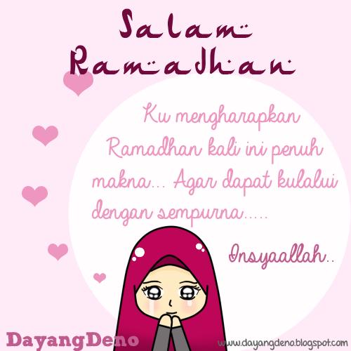 Salam Ramadhan Al-Mubarak :)