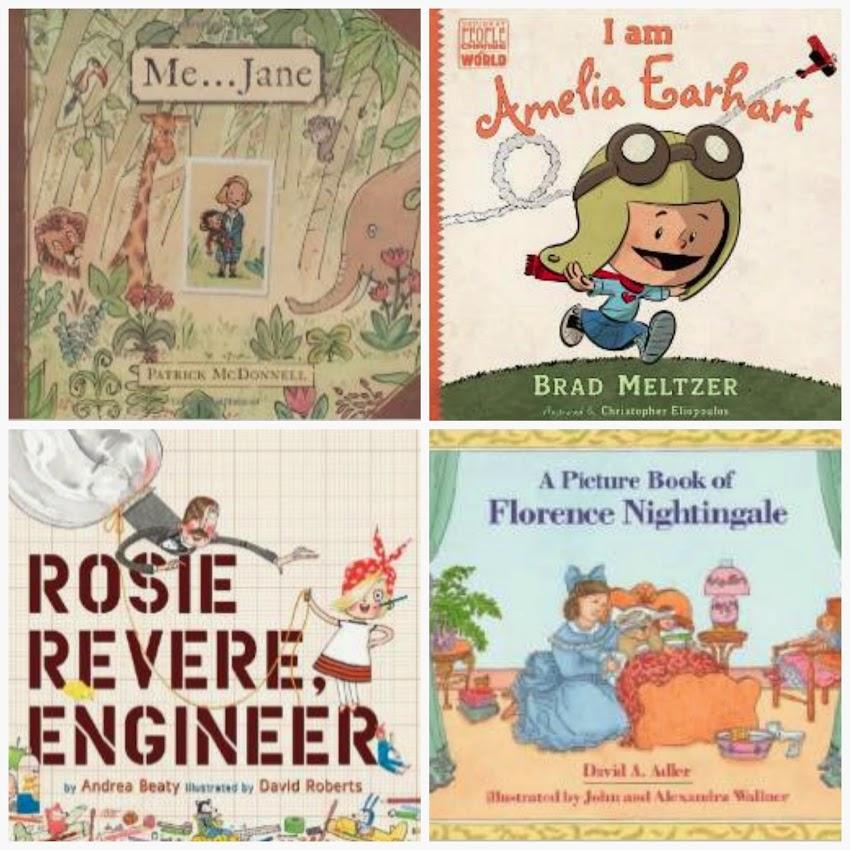 4 kids books about amazing women