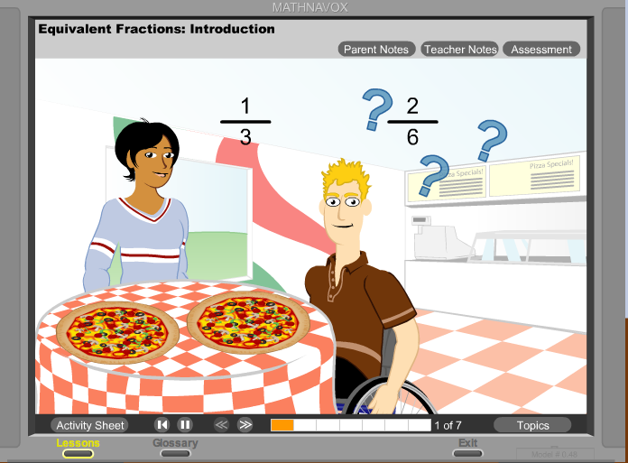 Free technology for teachers animated math lessons for kids