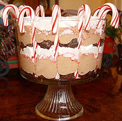 melhor receita de trifle de natal - sobremesas simples