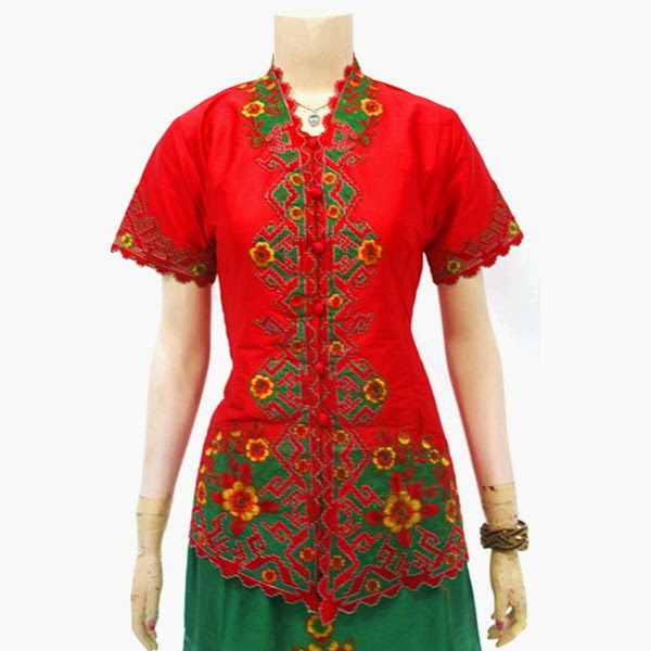 Dress Batik Kebaya Bordir