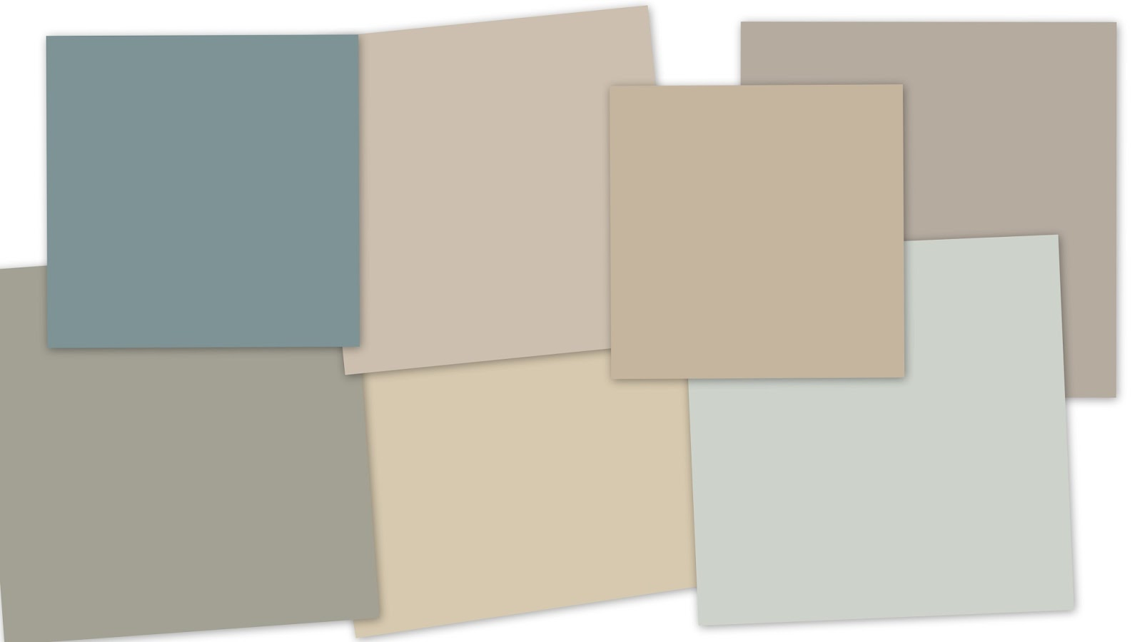 Inspired by numbers august 2013 for Best whole house neutral paint color