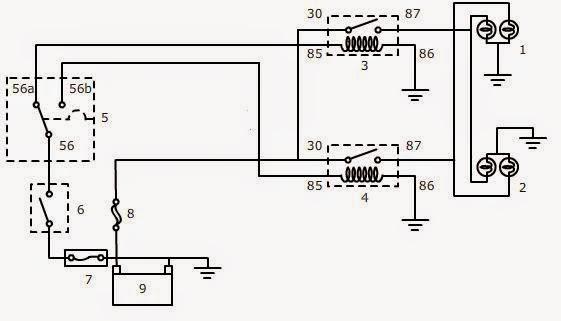 Gambar wiring diagram lampu kepala jarak dekat wire center wiring kelistrikan lampu kepala wire center u2022 rh mrguitar co asfbconference2016 Choice Image