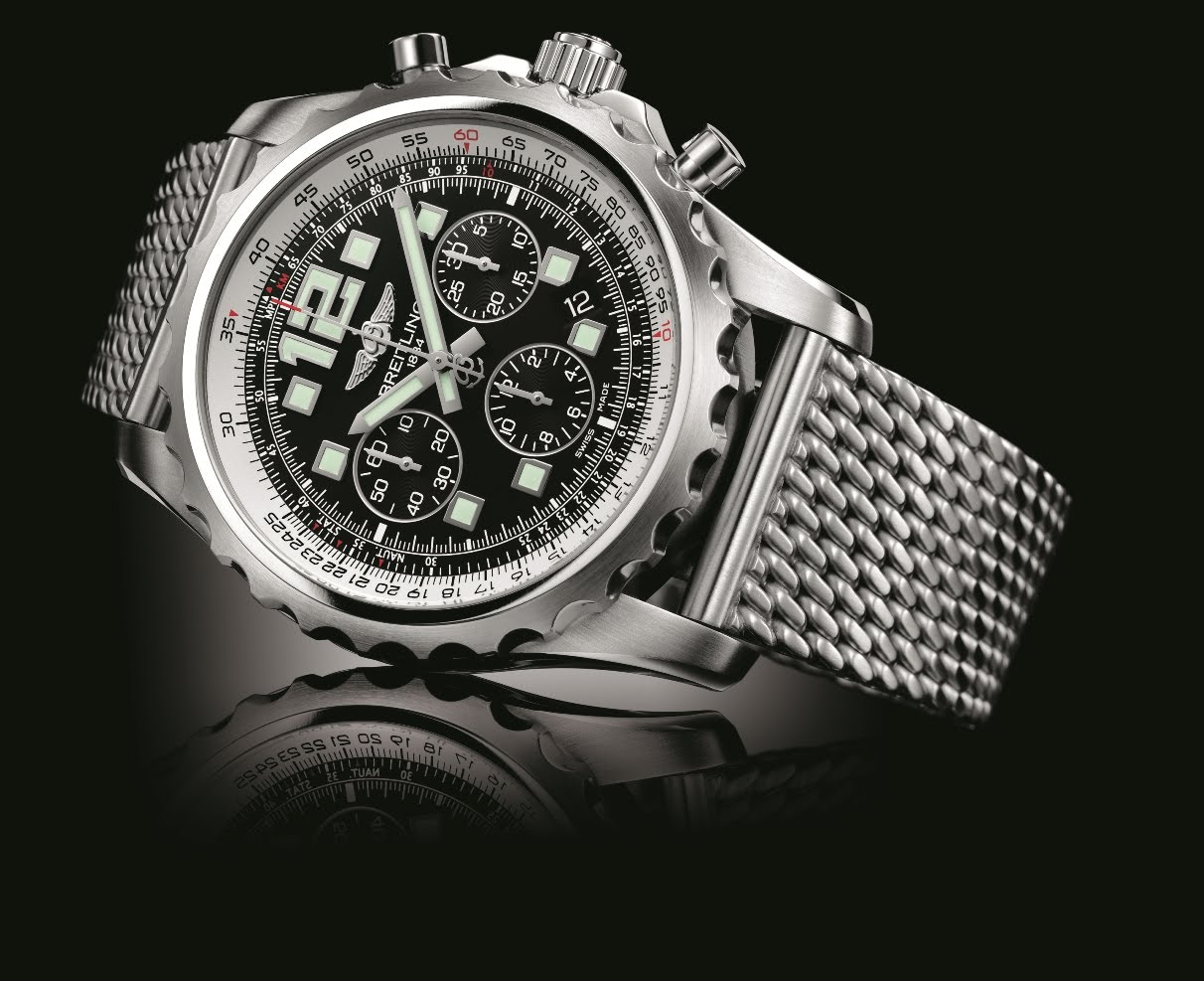 Watchuseek watch blog baselworld bound the new breitling chronospace automatic for Breitling automatic