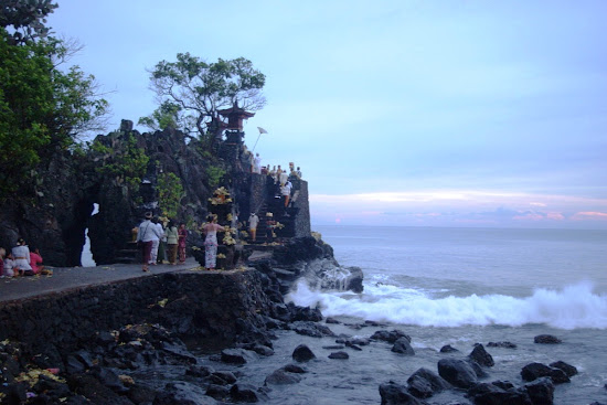 Batu Bolong Temple, Lombok Island, West Nusa Tenggara. AeroTourismZone
